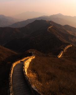 万里の長城 中国の写真素材 [FYI04287352]
