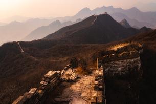 万里の長城 中国の写真素材 [FYI04287354]