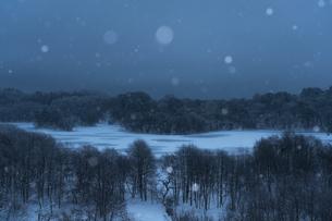 小野川湖 日本 福島県 北塩原村の写真素材 [FYI04287355]