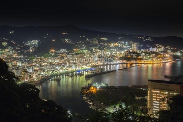 熱海城 日本 静岡県 熱海市の写真素材 [FYI04287384]