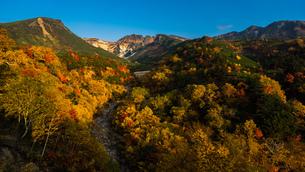十勝岳温泉 日本 北海道 上富良野町の写真素材 [FYI04287454]