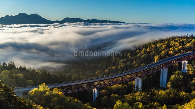 三国峠 日本 北海道 河東郡の写真素材 [FYI04287455]