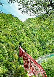 宇奈月駅 日本 富山県 黒部市の写真素材 [FYI04287473]