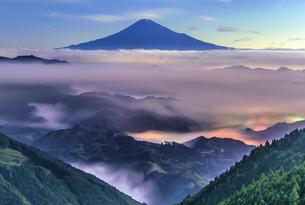 吉原からの眺め 日本 静岡県 静岡市の写真素材 [FYI04287503]