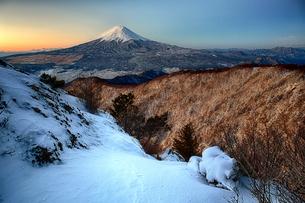 三つ峠山頂付近 日本 山梨県 西桂町の写真素材 [FYI04287527]