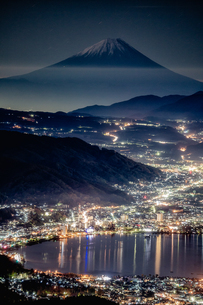 高ボッチ高原 日本 長野県 塩尻市の写真素材 [FYI04287534]