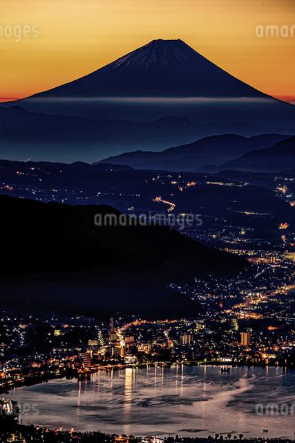 高ボッチ高原 日本 長野県 塩尻市の写真素材 [FYI04287535]