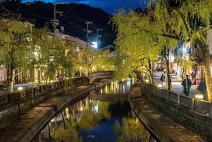 城崎温泉 日本 兵庫県 豊岡市の写真素材 [FYI04287549]