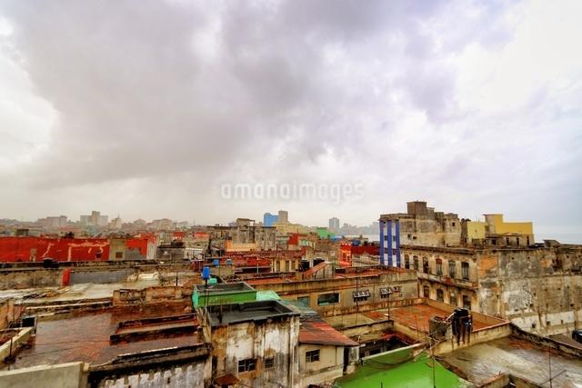 ハバナ旧市街 キューバの写真素材 [FYI04287558]