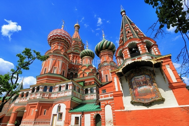 赤の広場 ロシアの写真素材 [FYI04287567]
