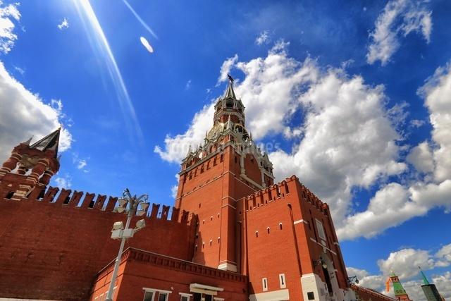 赤の広場 ロシアの写真素材 [FYI04287569]