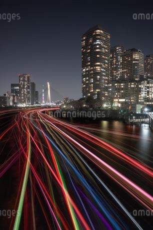 佃大橋 日本 東京都 中央区の写真素材 [FYI04287587]