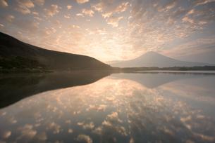 田貫湖 日本 静岡県 富士宮市の写真素材 [FYI04287697]
