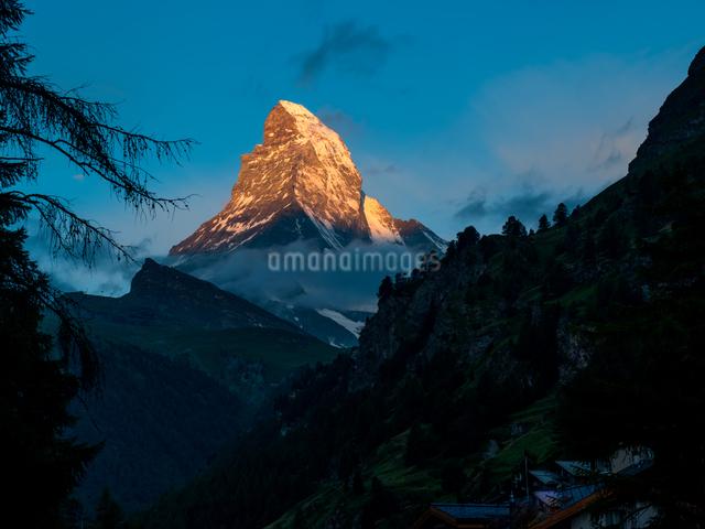 ツェルマット スイスの写真素材 [FYI04287728]