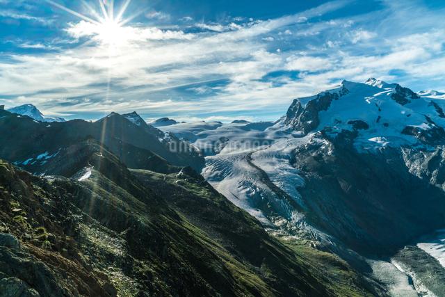 ゴルナーグラート展望台 スイスの写真素材 [FYI04287730]