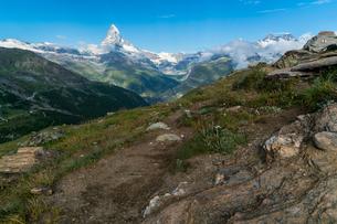 5-Seenweg の シュテリ湖付近 スイスの写真素材 [FYI04287733]