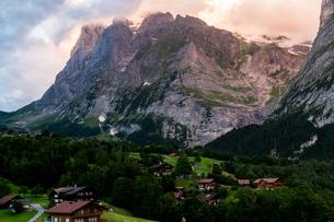 グリンデルワルト (キルヒビューホテル) スイスの写真素材 [FYI04287738]
