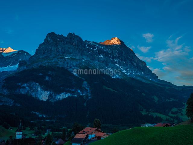 グリンデルワルト アイガー スイスの写真素材 [FYI04287740]