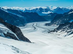 ユングフラウヨッホのスフィンクス展望台 スイスの写真素材 [FYI04287753]