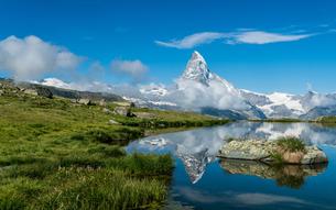 シュテリ湖 スイスの写真素材 [FYI04287757]