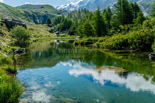 グリンジェ湖 スイスの写真素材 [FYI04287758]