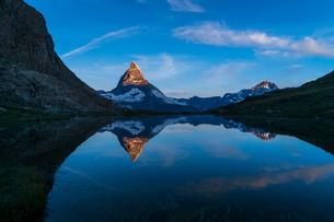 リッフェル湖 スイスの写真素材 [FYI04287762]