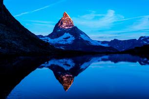リッフェル湖 スイスの写真素材 [FYI04287766]