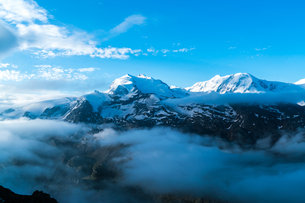 ウンターロートホルン展望台 スイスの写真素材 [FYI04287767]