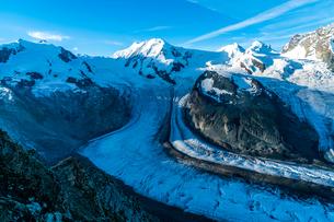 ゴルナーグラード展望台 スイスの写真素材 [FYI04287770]
