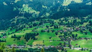 グリンデルワルト (キルヒビューホテル) スイスの写真素材 [FYI04287773]