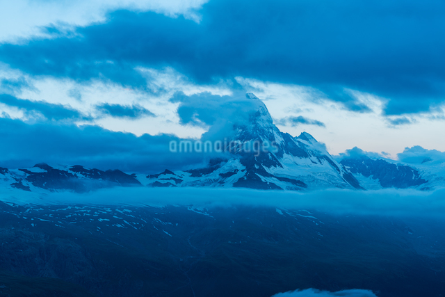 ウンターロートホルン展望台 スイスの写真素材 [FYI04287777]