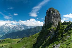 シーニゲプラッテ展望台 スイスの写真素材 [FYI04287780]