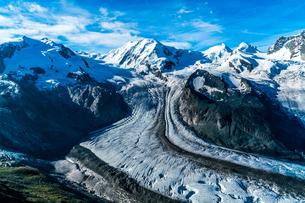ゴルナーグラード展望台 スイスの写真素材 [FYI04287786]