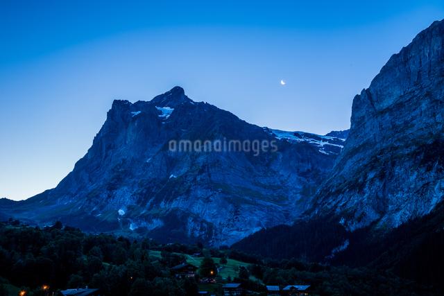 グリンデルワルト (キルヒビューホテル) スイスの写真素材 [FYI04287791]