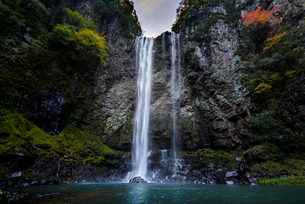 福貴の滝 日本 大分県 宇佐市の写真素材 [FYI04287870]