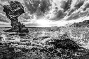 白浜海水浴場 日本 長崎県 長崎市の写真素材 [FYI04287916]