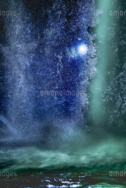 慈恩の滝 日本 大分県 玖珠町の写真素材 [FYI04287928]