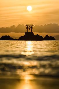 奈多宮 日本 大分県 杵築市の写真素材 [FYI04287933]