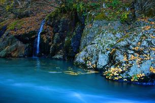 稲核ダム下流 日本 長野県 松本市の写真素材 [FYI04287997]