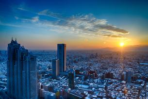 都庁 日本 東京都 新宿区の写真素材 [FYI04288014]