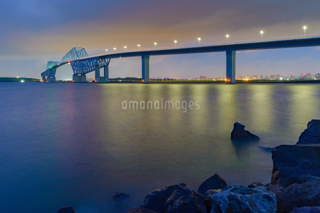東京ゲートブリッジ 日本 東京都の写真素材 [FYI04288029]
