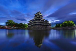 松本城 日本 長野県 松本市の写真素材 [FYI04288032]
