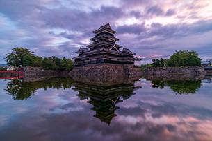 松本城 日本 長野県 松本市の写真素材 [FYI04288042]