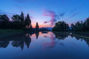 国営アルプスあづみの公園 日本 長野県 安曇野市の写真素材 [FYI04288076]