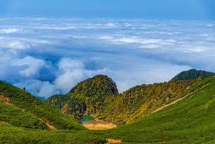 乗鞍スカイライン 乗鞍岳 日本の写真素材 [FYI04288089]