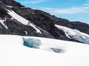 ユングフラウヨッホのスフィンクス展望台 スイスの写真素材 [FYI04288102]