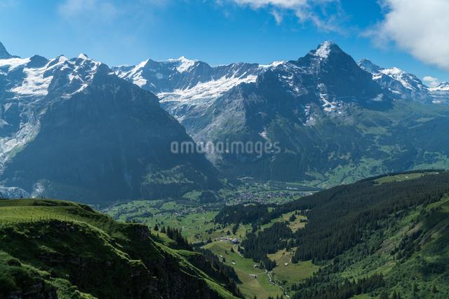 フィルスト アイガー・ウルトラ・トレイル グリンデルワルト スイスの写真素材 [FYI04288103]