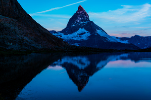 リッフェル湖 スイスの写真素材 [FYI04288107]
