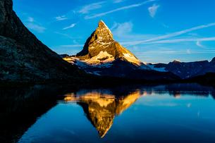 リッフェル湖 スイスの写真素材 [FYI04288108]