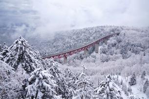 冬の三国峠の写真素材 [FYI04288374]